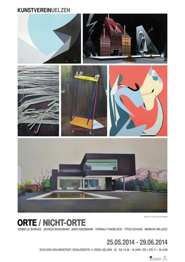 Jens Hausmann ORTE / NICHTORTE - KUNSTVEREINUELZEN MUSEUM SCHLOSS HOLDENSTEDT 2014